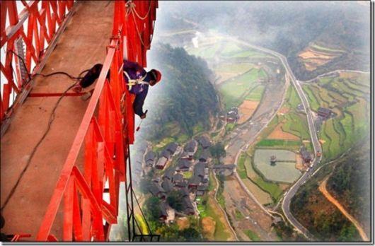 China Opens Record Breaking Aizhai Bridge