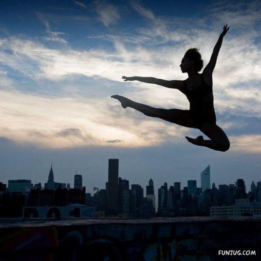 Beauty Of Ballet Movements
