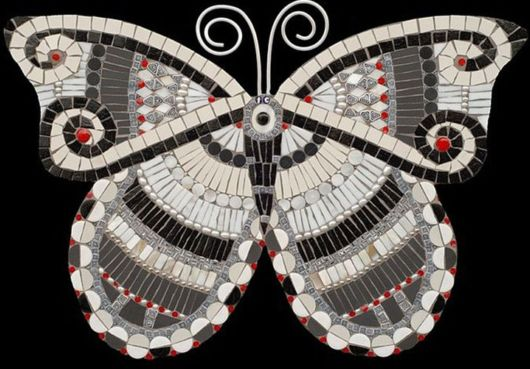 Awesome Butterfly Mosaic Art