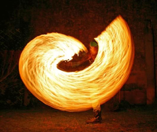 Captivating Fire Dancing Photos
