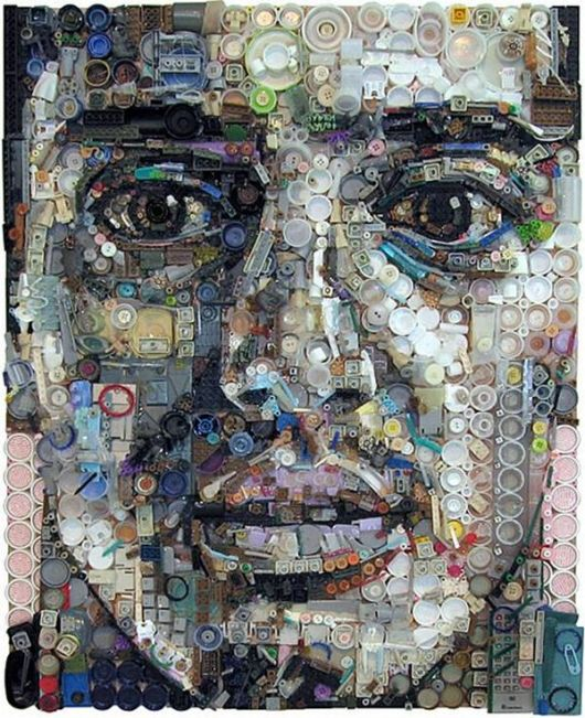 Unbelievable Junk Portraits Artwork