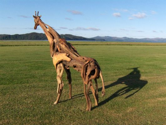 Most Amazing Driftwood Sculptures