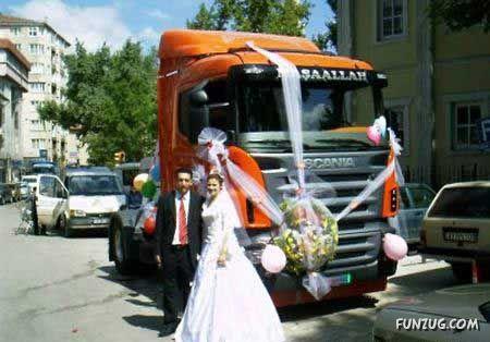 Top Unique Wedding Cars