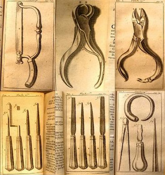 Dentist Tools From The Beginning