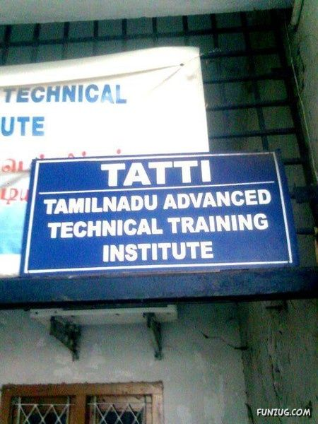 Hilarious Sign Boards From Across India