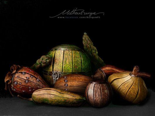 Creative Photo Manipulations Of Food