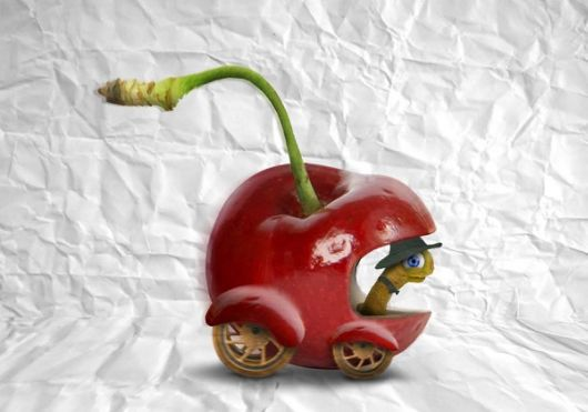 Creative Photo Manipulations Of Food
