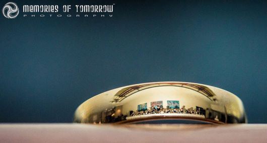 Weddings Reflected On The Rings
