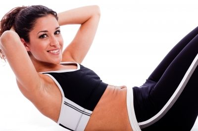 Easy Stomach Crunch Exercises