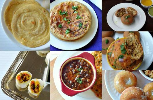 Breakfast Of Different States In India