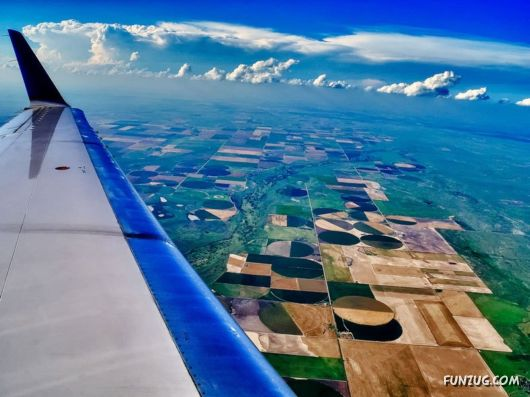 Seeing The World Through An Airplane Window