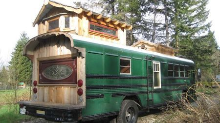 Coolest Homes Made From Vehicles