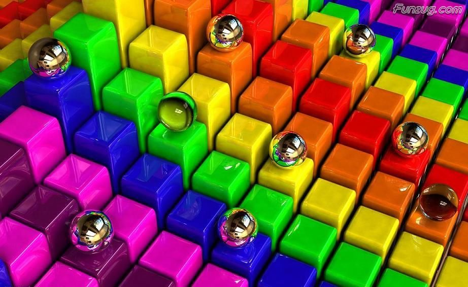 Colorful 3D Wallpapers For Your Desktop