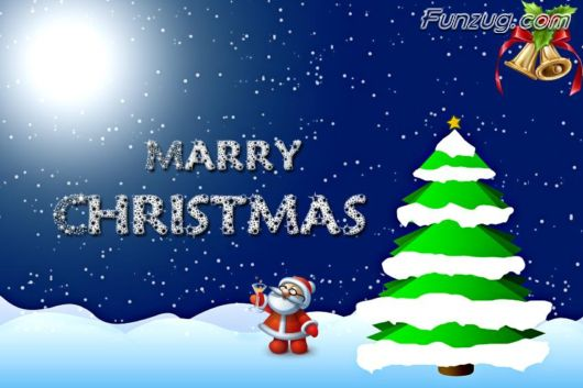 Click to Enlarge - Creative Christmas Wallpapers