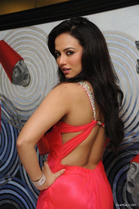 Sana Khan Celebrates At A Party