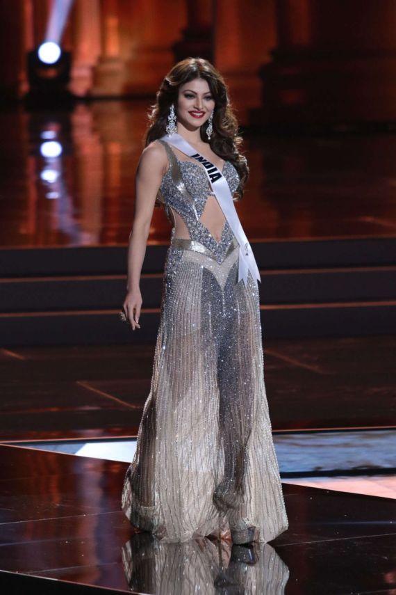 Urvashi Rautela For Miss Universe 2015 Prelims In Vegas