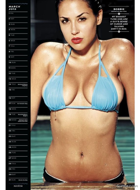 Maxim Hometown Exclusive Calendar 2013