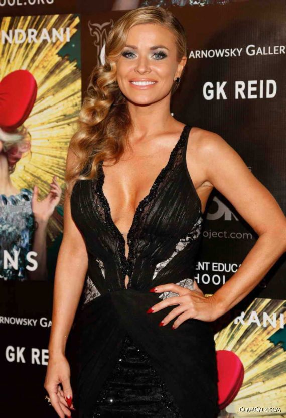 Carmen Electra At The Markus Indrani Icon Book Launch