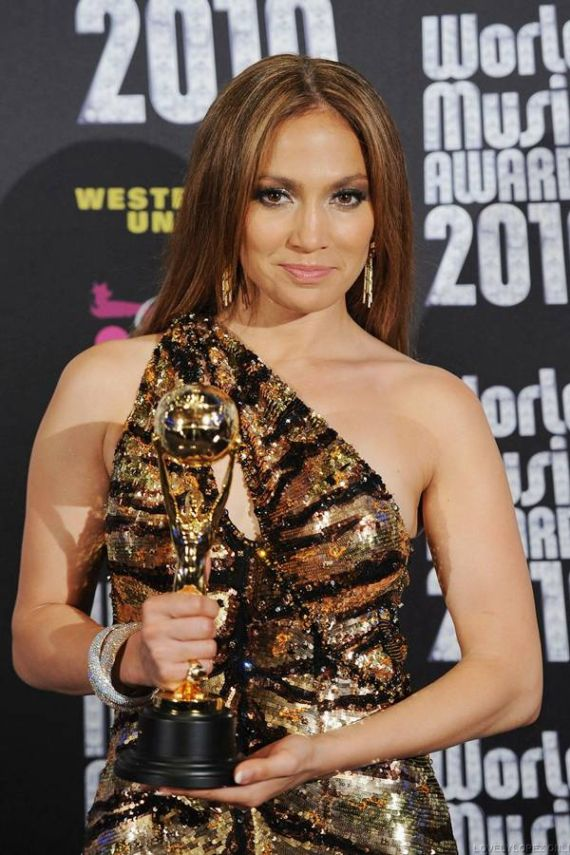 Jennifer Lopez at World Music Awards