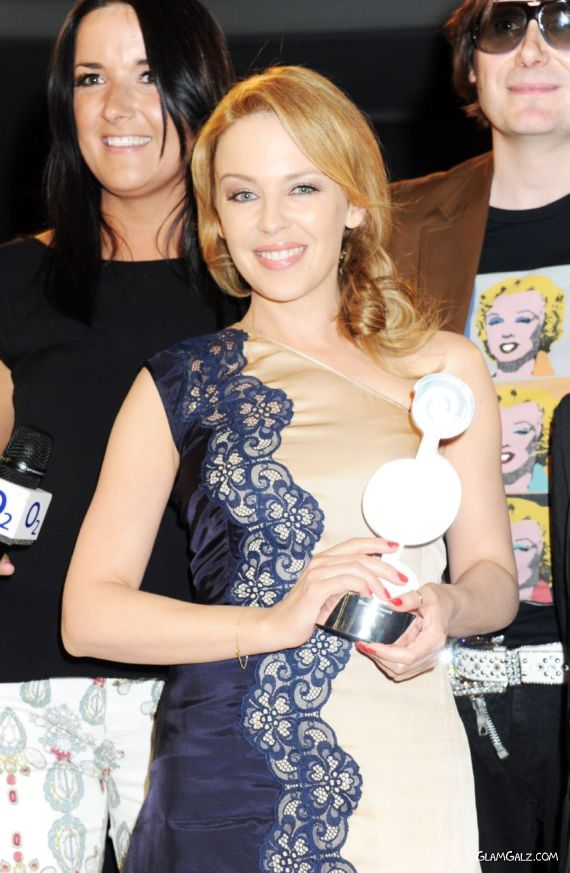 Kylie Minogue At Silver Clef Awards