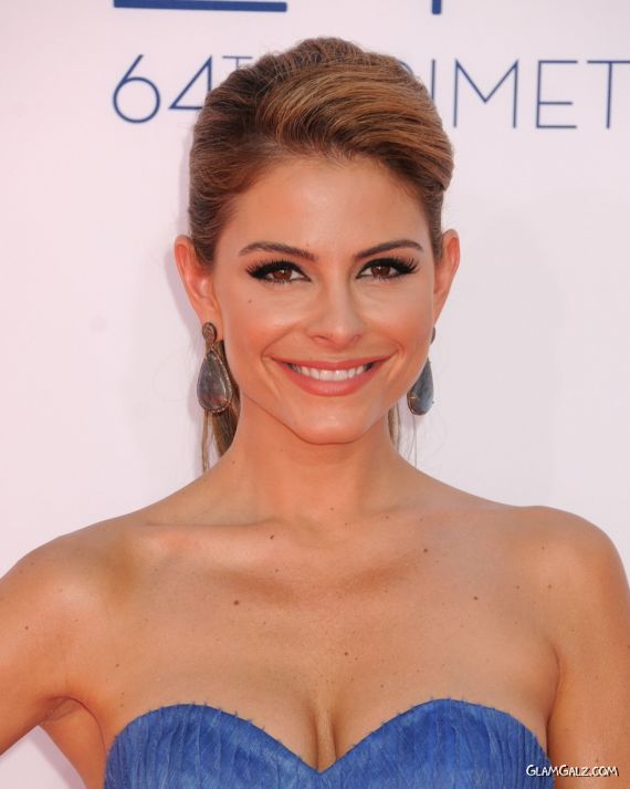 Gorgeous Maria Menounos At The Primetime Emmy Awards