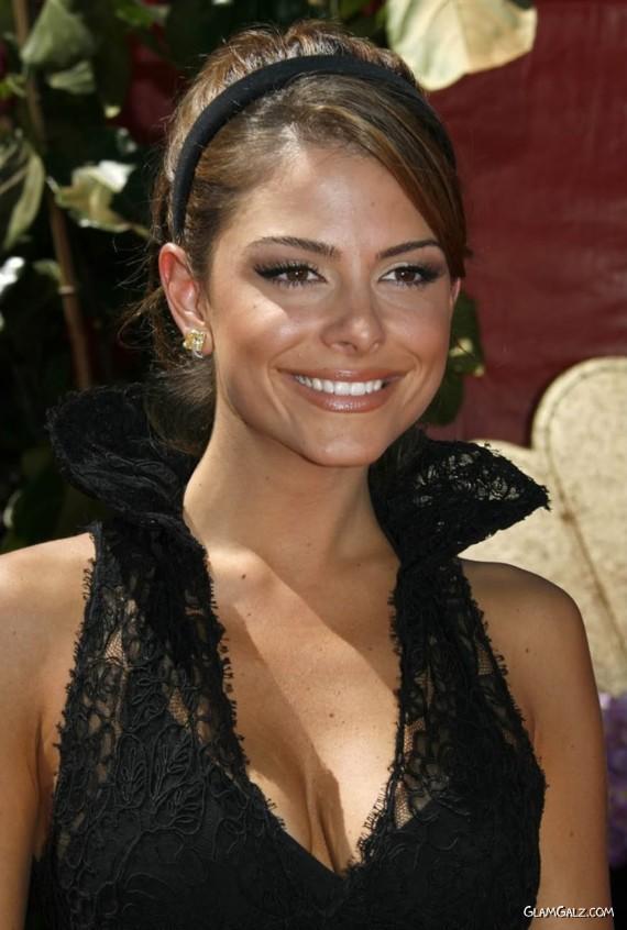 Pretty Maria Menounos at EMMY Awards