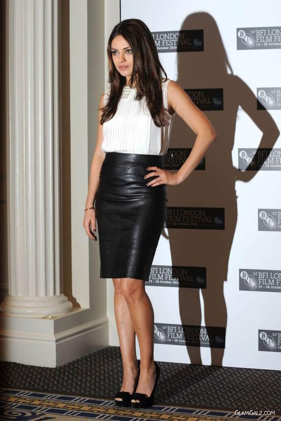 Charming Mila Kunis At London Music Festival