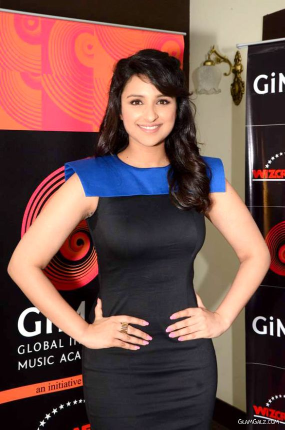Pretty Parineeti Chopra At GIMA Press Meet