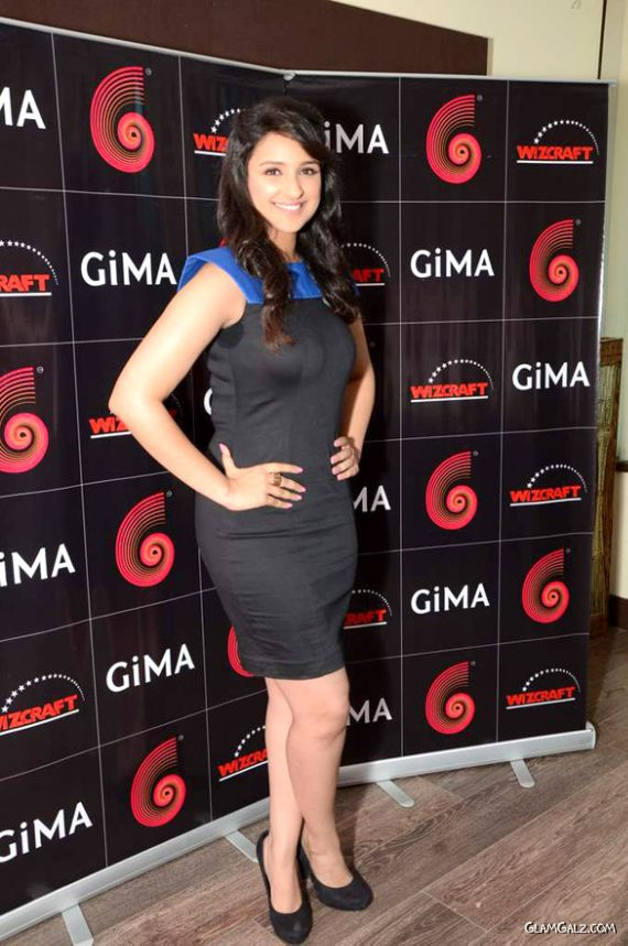 Pretty Parineeti Chopra At GIMA Press Meet