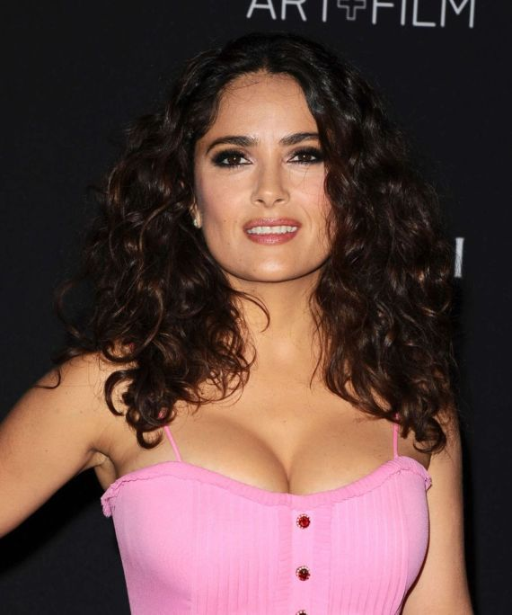 Salma Hayek For LACMA 2015 Art Film Gala