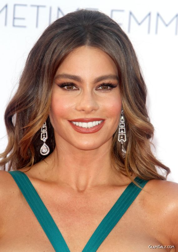 Gorgeous Sofia Vergara At The Primetime Emmy Awards