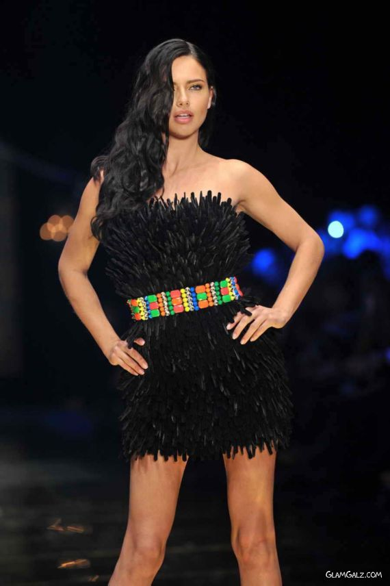 Adriana Lima In Various Dresses At Dosso Dossi Fashion Show