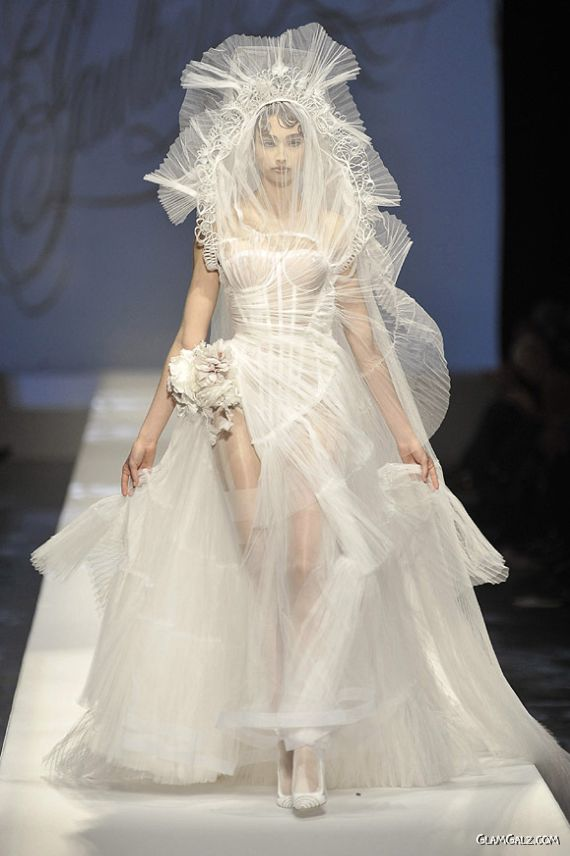 Stylish European Bridal Outfits