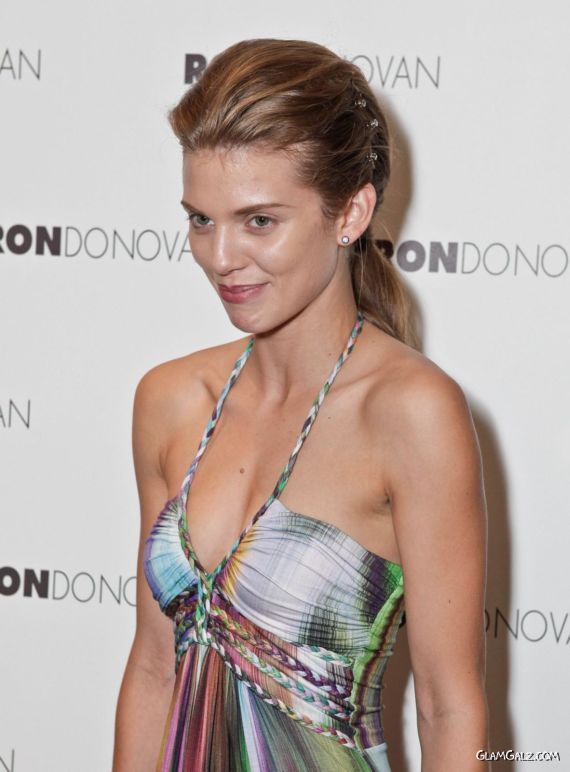 AnnaLynne McCord At GBK Productions Luxury Lounge