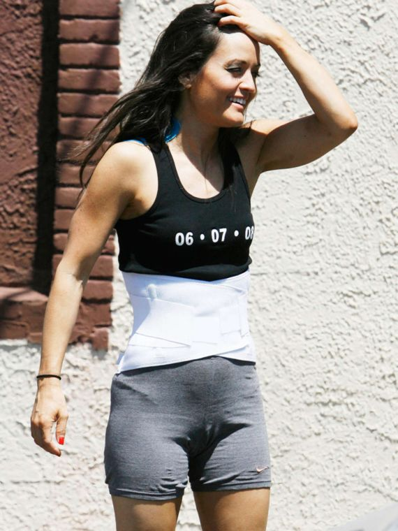 Danica McKellar at Dancing With The Stars Rehearsal