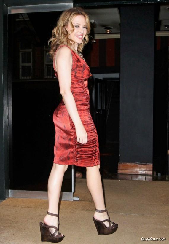 Gorgeous Kylie Minogue at Blakes