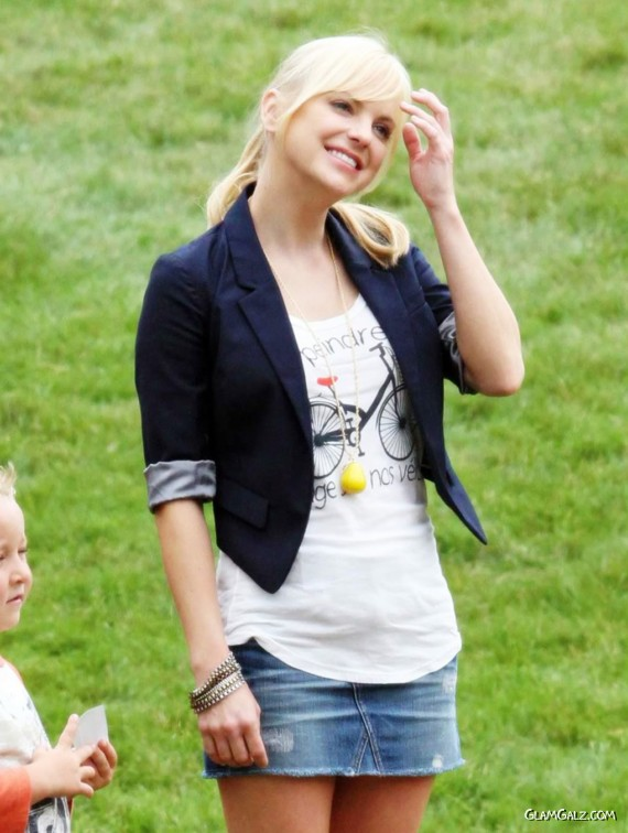 Anna Faris' Cuteness Even Bores Herself
