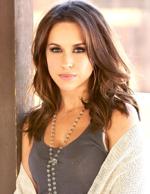 Lacey Chabert In Bridget Marie Magazine