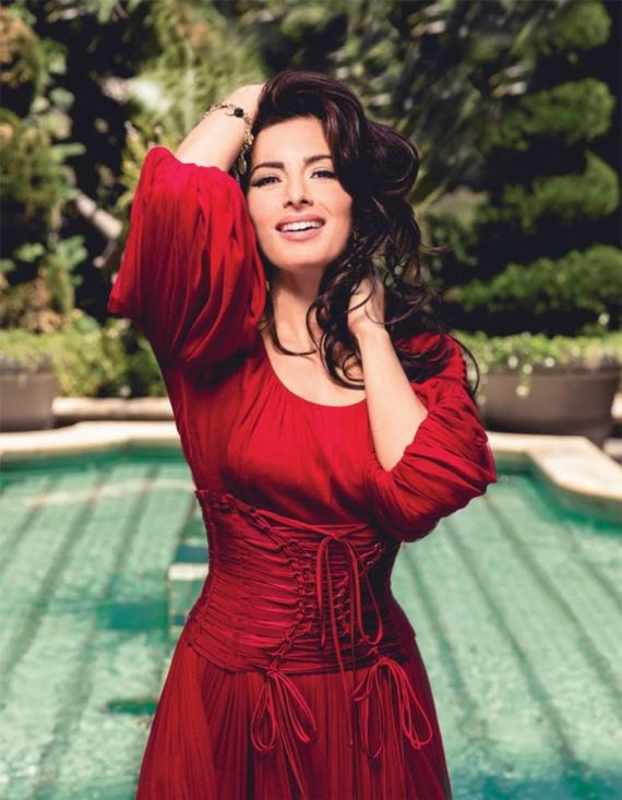 Sarah Shahi Photoshoot for CBS Watch Magazine