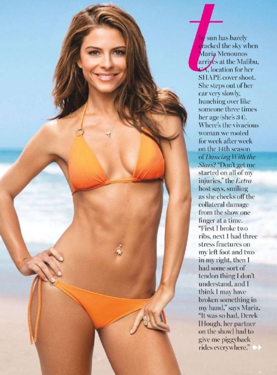 Maria Menounos Exclusively In Shape Mag