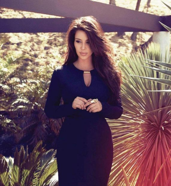 Miss Kardashian In Instyle Magazine