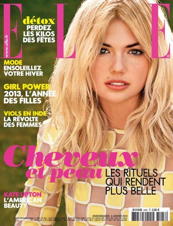 Pretty Kate Upton Posing For Elle France
