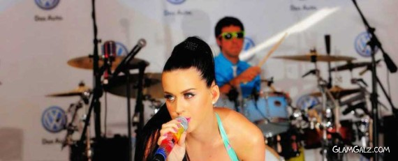 Katy Perry Performing in New York