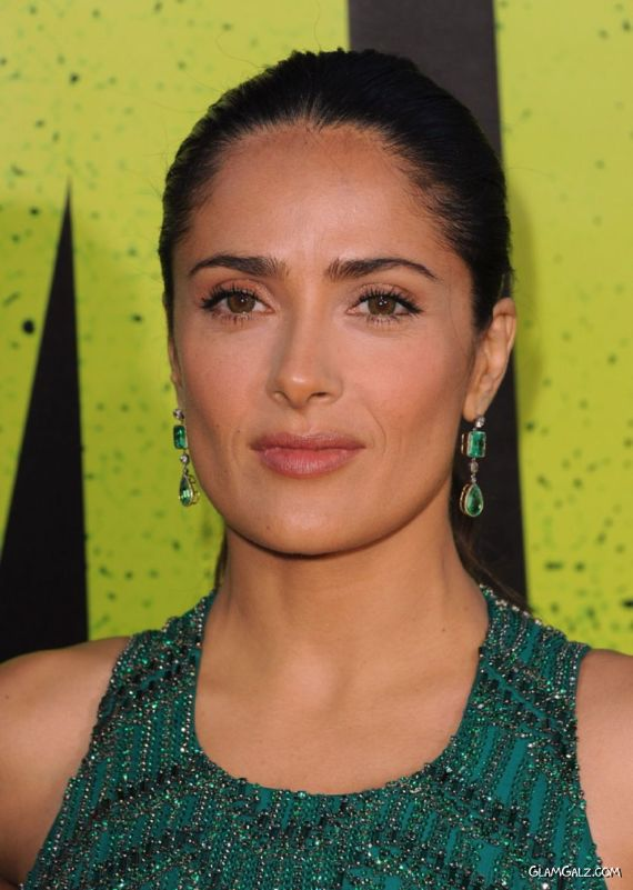 Salma Hayek At The Savages Premiere