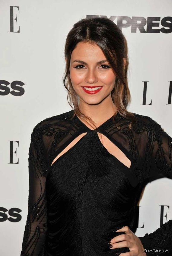 Beautiful Victoria Justice For Elle Express