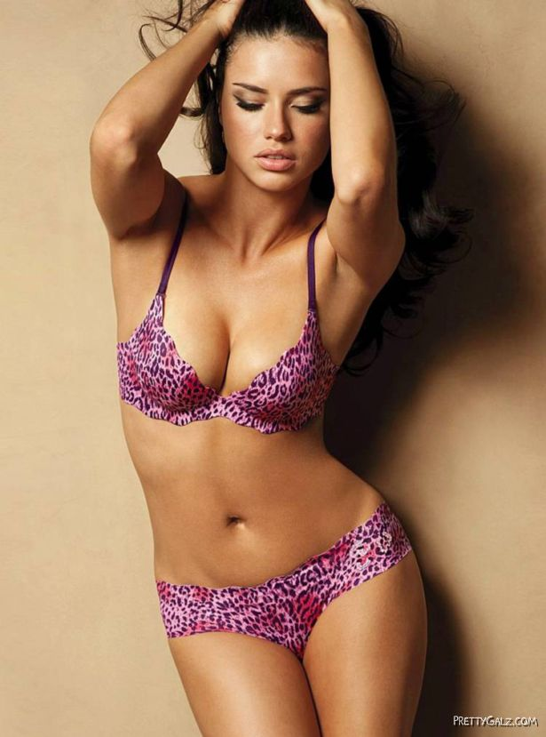 Adriana Lima For Valentine Special Shoot