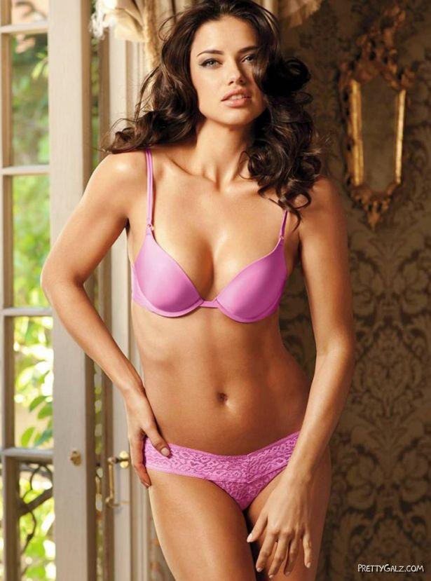 Adriana Lima For Valentine Special Shoot