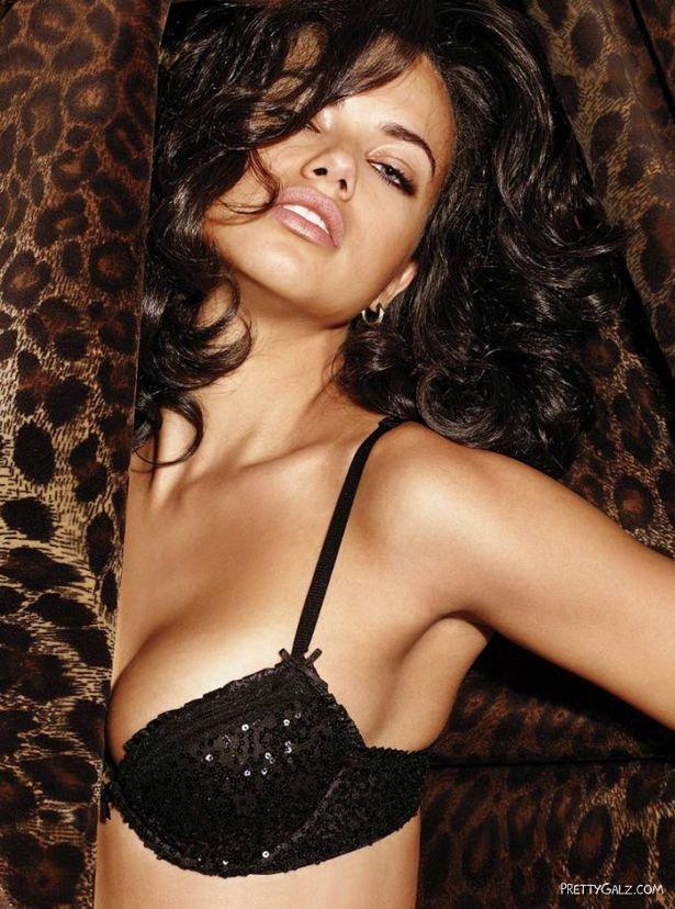 Adriana Lima For Victorias Secret Lingerie Shoot