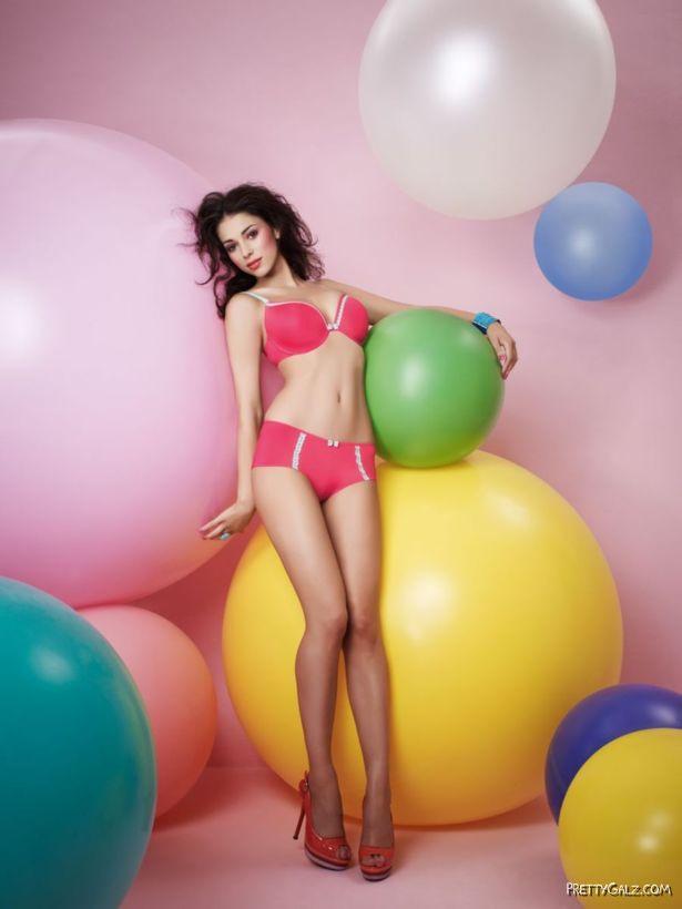 Glamour Model Georgia Salpa Exclusive Shoot