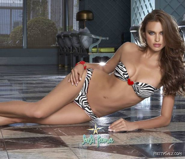 Irina Sheik For Luli Fama Swimwear Collection